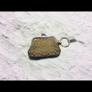 Coach coin purse/ key chain